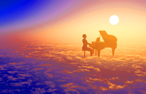 A BLESSING FOR AN UNKNOWN PIANIST