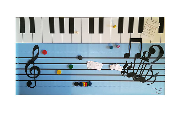 Teacher To Teacher: Piano Games from Valerie Sabbah (MGBH